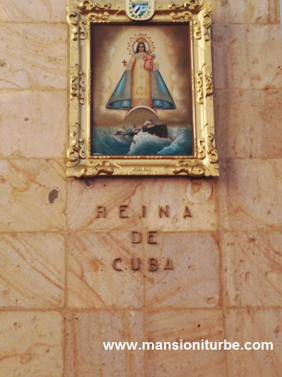 Virgin of Cuba at the Farima's Shrine in Tacámbaro, Michoacán