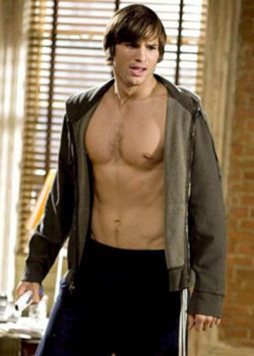 ashton kutcher shirtless no strings attached. I like being naked!