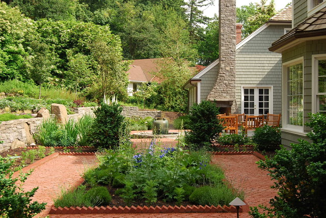 Brick Edging For Your Flower Beds5