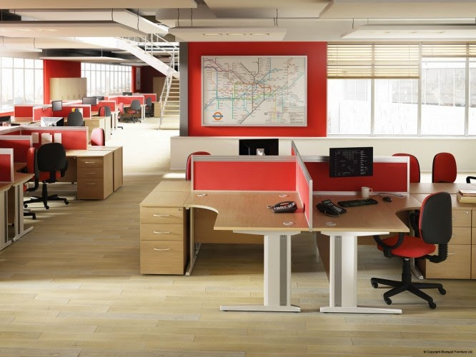 M3 Bluespot Cantilever Desks