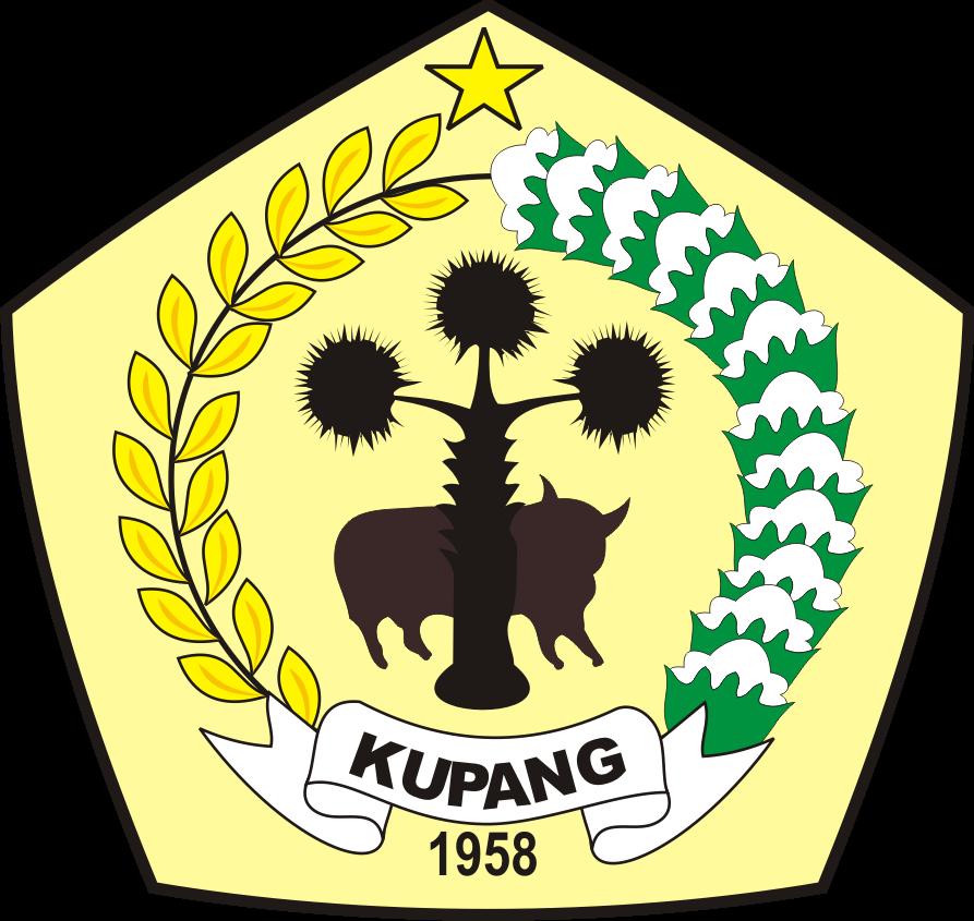 logo kabupaten kupang kumpulan logo indonesia