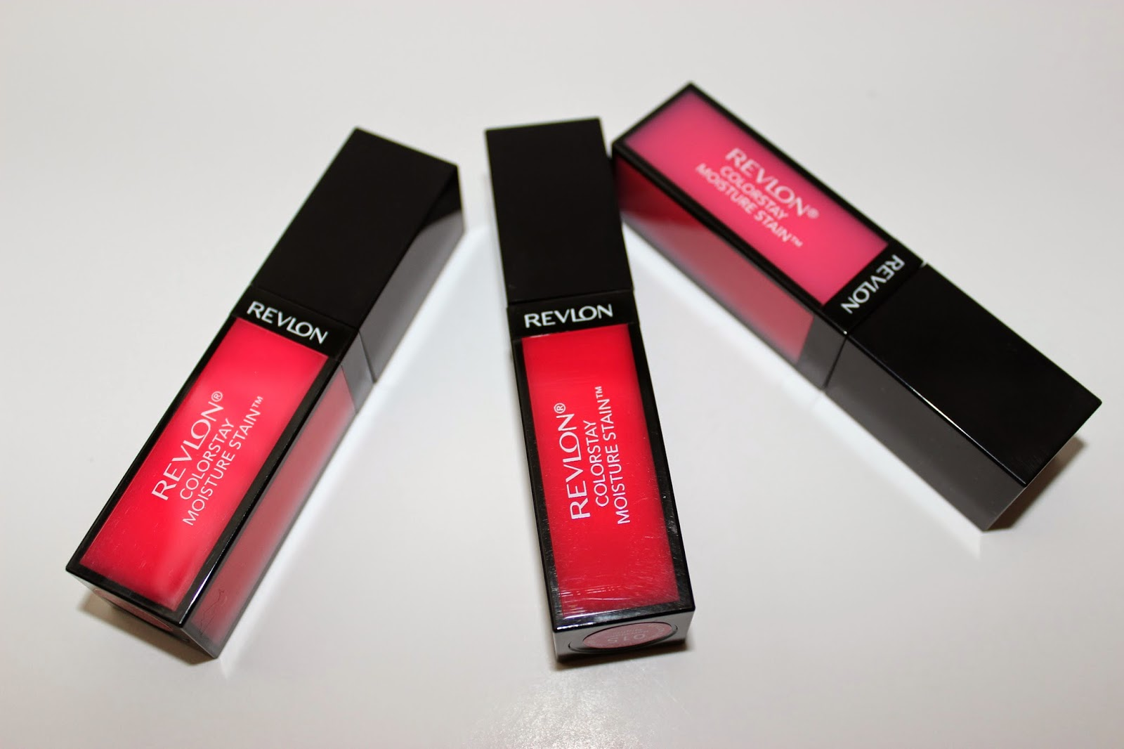 Revlon ColorStay Moisture Stain in Rio Rush, Barcelona Nights & LA Exclusive
