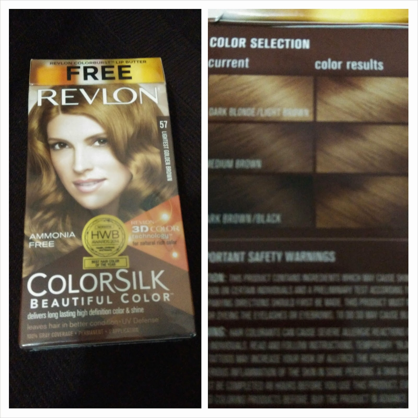 Revlon, Colorsilk, Lightest Golden Brown,