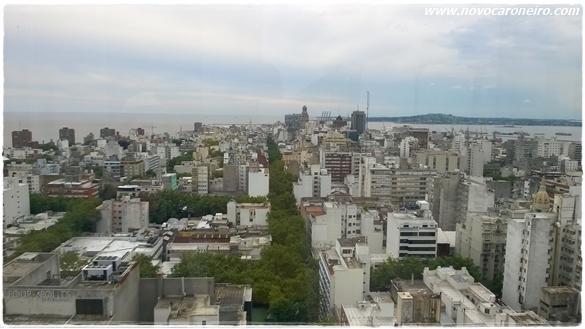 Mirante da Intendencia de Montevideu, por novocaroneiro.com