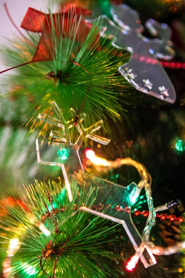 decorazioni natalizie trasparenti