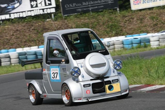 Daihatsu Midget II, K100P, racecar, unique cars, crazy