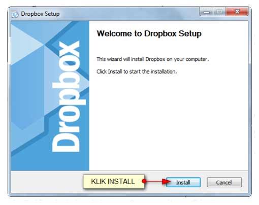 Cara Install dan Menggunakan Dropbox di Komputer Panduan Cara Install dan Menggunakan Dropbox di Komputer
