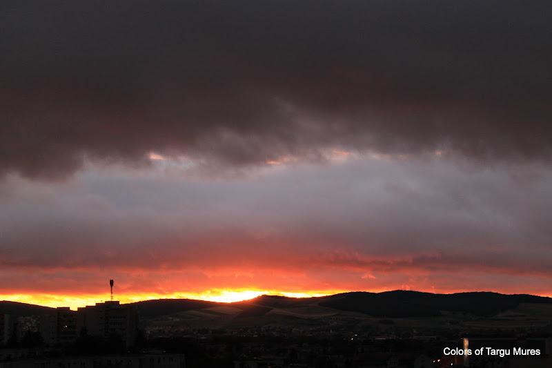 Apus de soare-Targu Mures