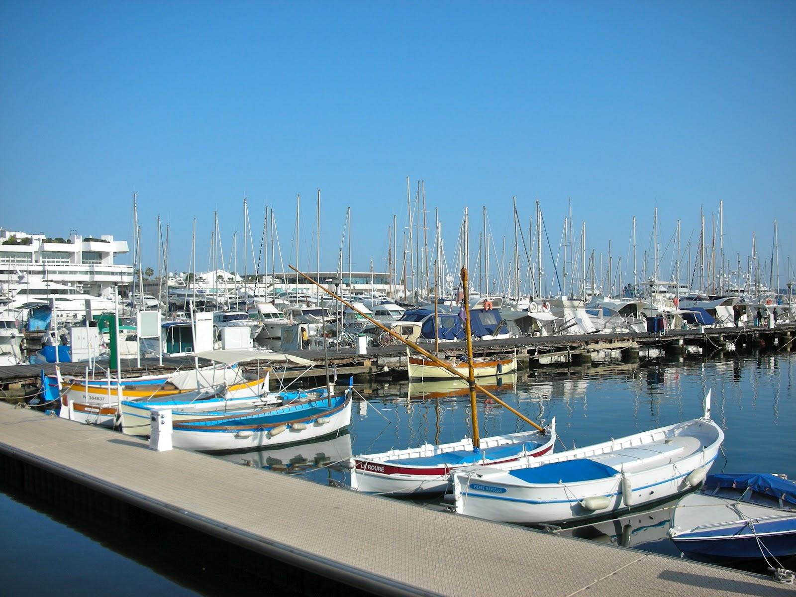 La c te d 39 azur le vieux port de cannes - Port de cannes capitainerie ...