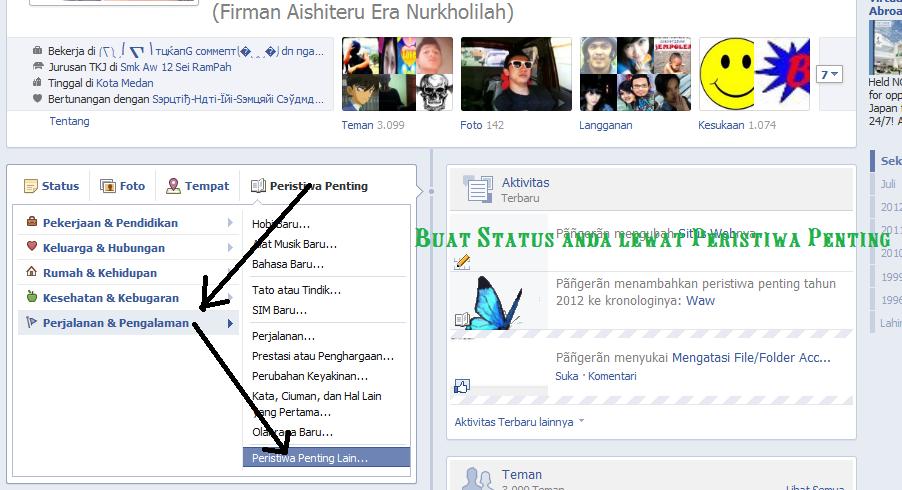 Hot] Buat Foto Sampul Kronologi Facebook Bergerak ( dngan Full ...