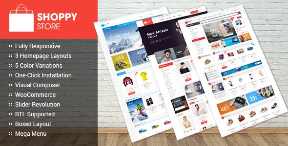 ShoppyStore - WooCommerce WordPress Template | Absolute Themplates