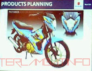 Foto Bocoran Desain Satria FU 2013 Headlamp