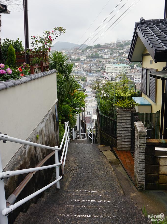 Petites ruelles de Nagasaki
