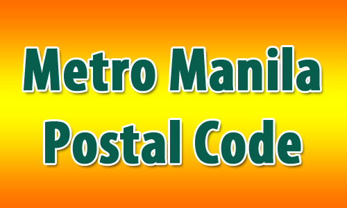 Metro Manila Postal Code Lists - Philippines