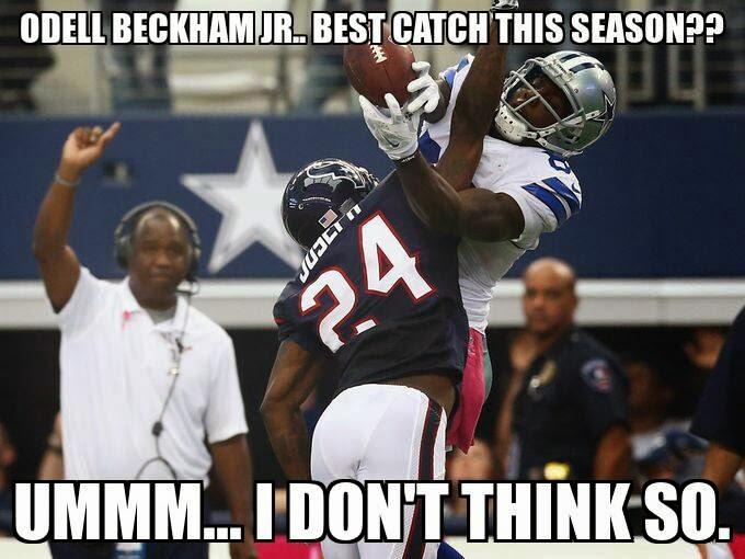how to catch a football like odell beckham jr
