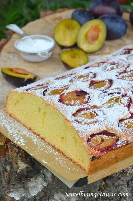 Ciasto ze śliwkami (Ciasto z owocami)