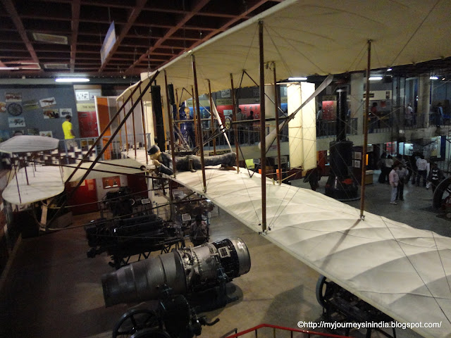 Wright brothers aeroplane Vishveshwaraya Science Museum