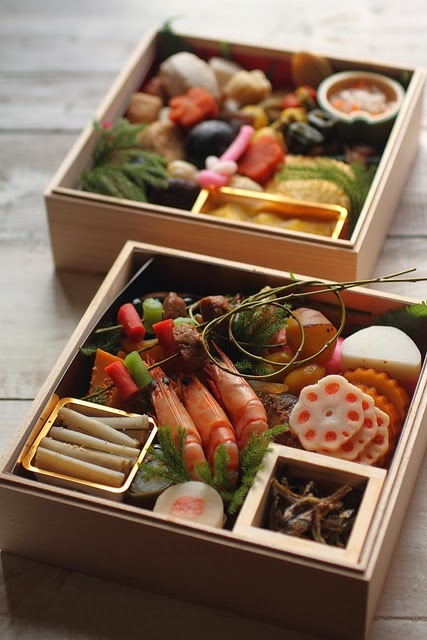 Japanese Happy New Year Bento