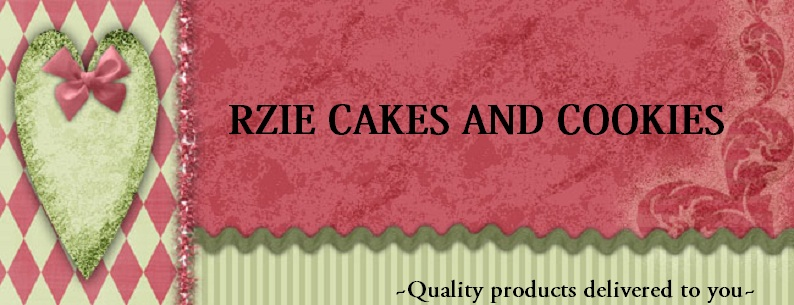 R ZIE FRESH BAKE CAKES AND COOKIES