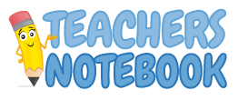 "Come over and visit my ""Teachers Notebook"" Store!"