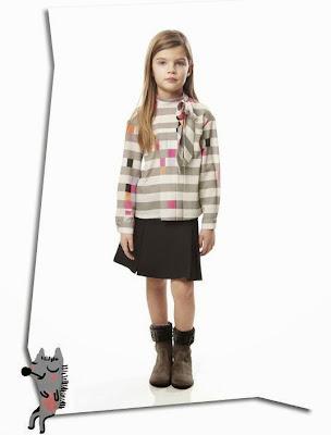 Fendi moda niña otoño 2013