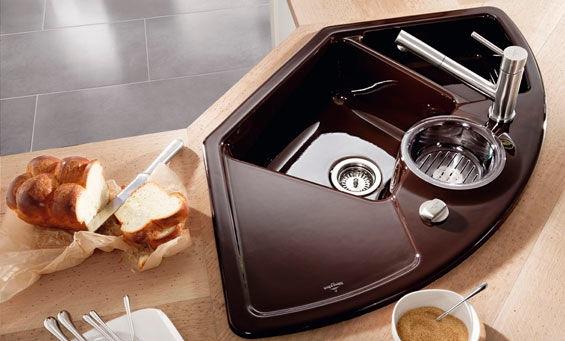 I d e a soluciones para cocinas que hacen esquina - Fregaderos de esquina ...