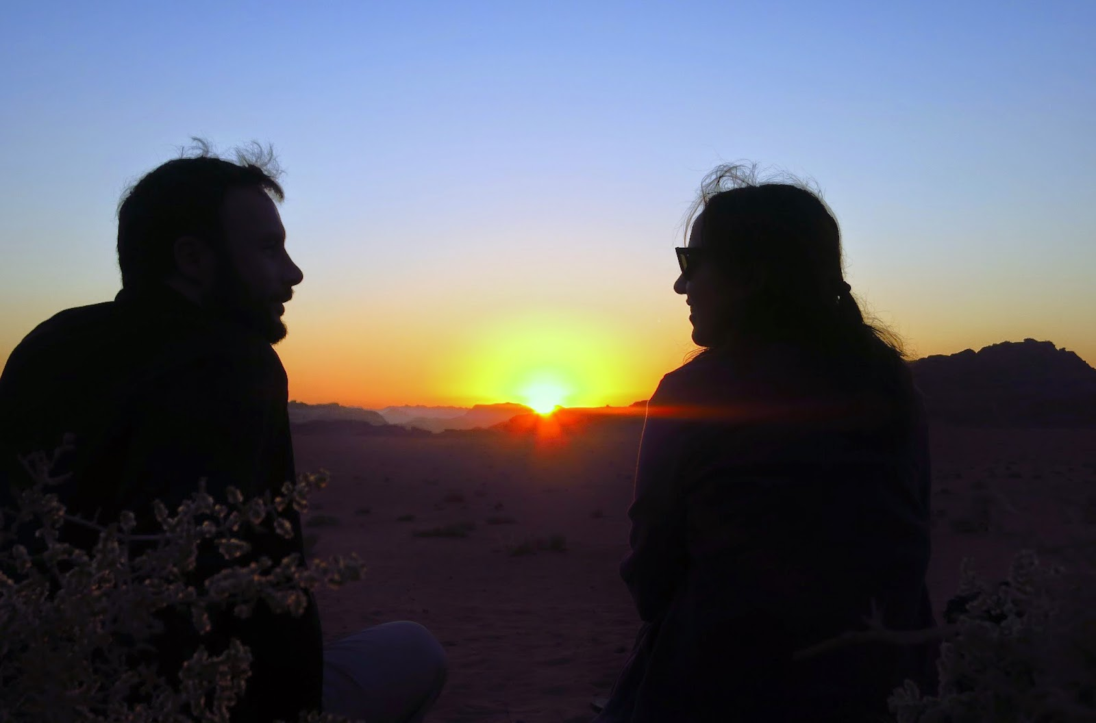 Wadi Rum, atardecer