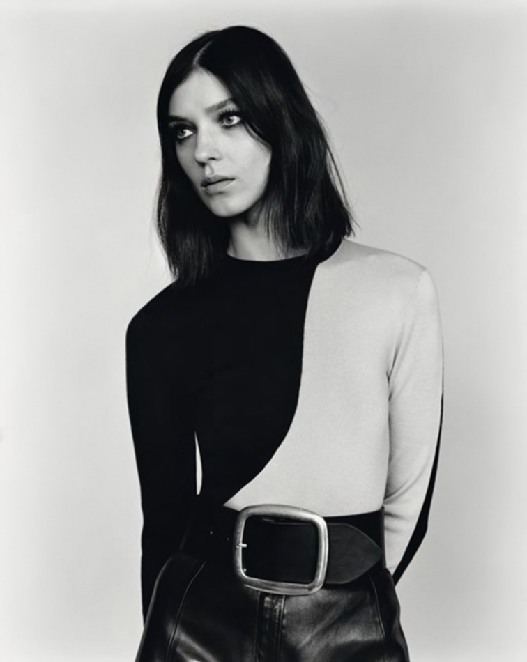 Kati Nescher shot by Alasdair McLellan and styled by Suzanne Koller for Self Service ss 2012