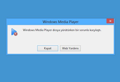 Media Player Codec Hatası