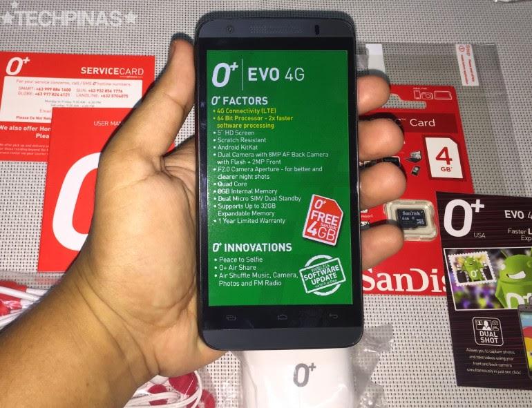 O+ Evo 4G