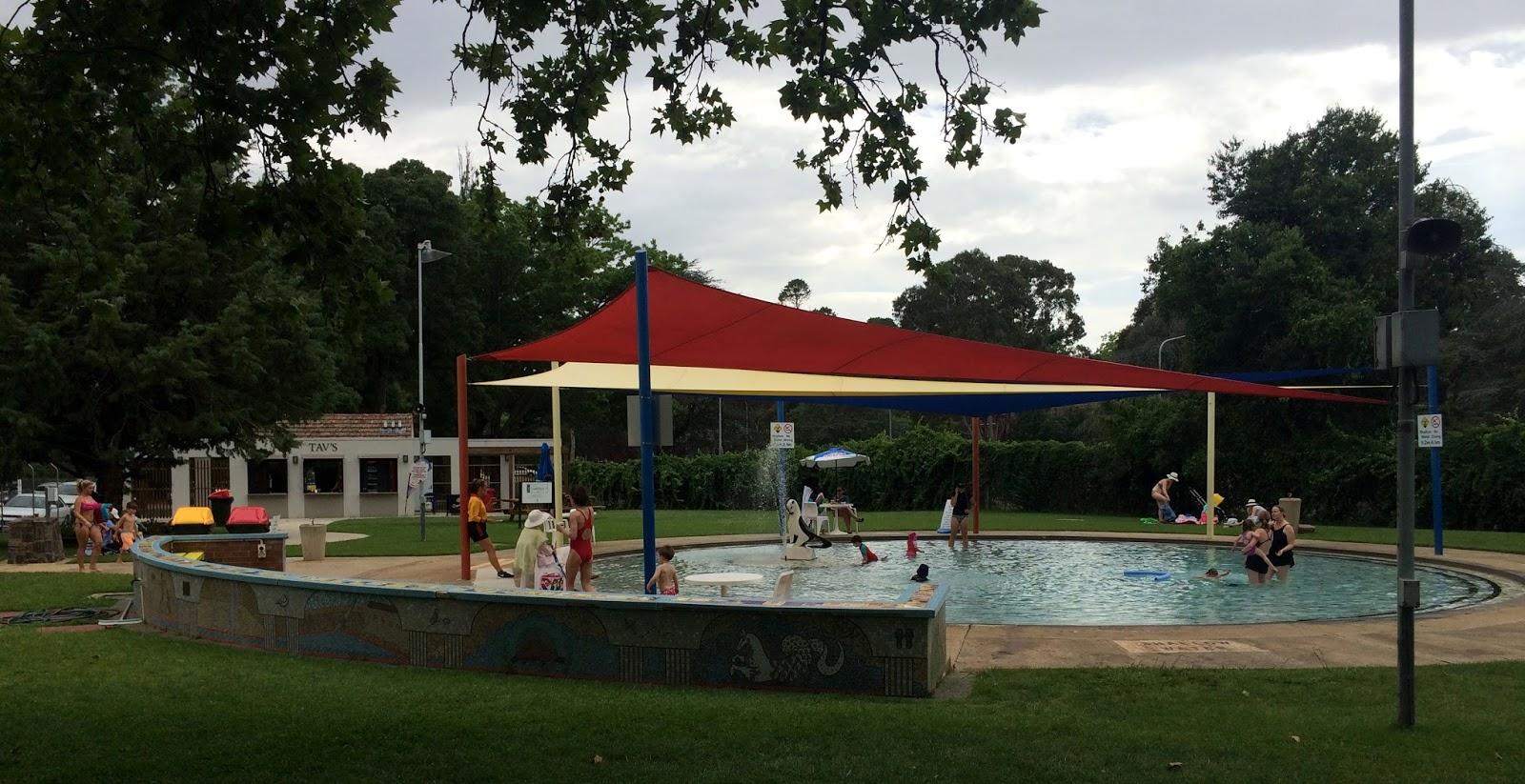 Swimming Manuka Pool Canberra