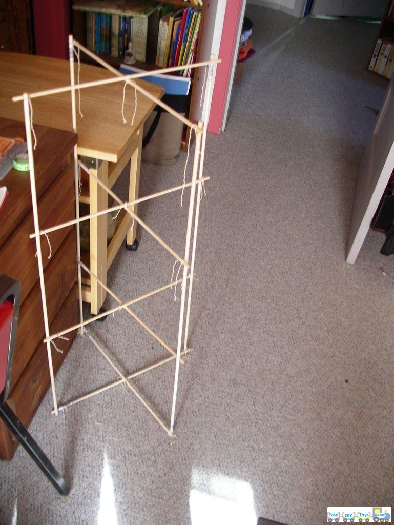 Guide for homemade box kite