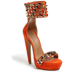 Jeffrey Campbell Kylie Heels orange