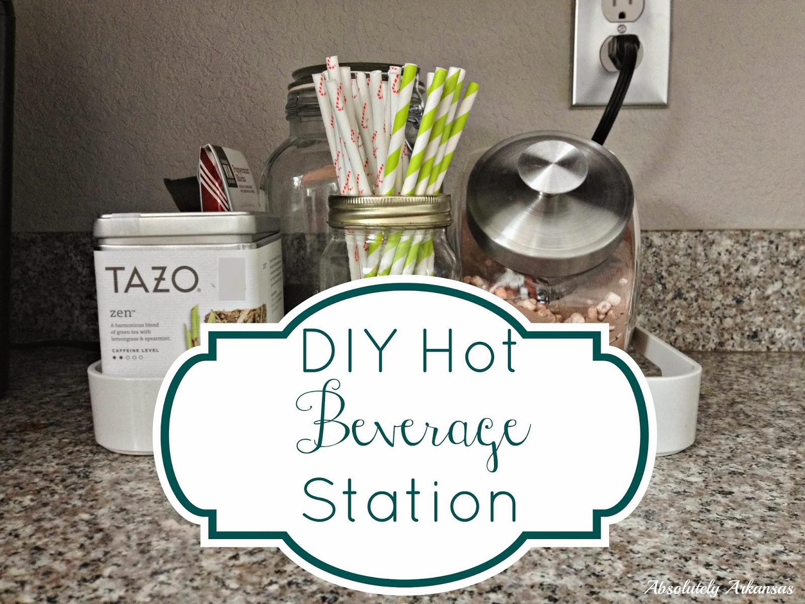 Rose & Co Blog: Hot Beverage Station
