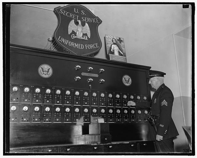 10/1/38: Alarm system of the Treasury Dept., Secret Service
