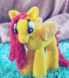Pequeno Pony Amigurumi Patron : PATRON GRATIS PONY (MI PEQUEnO PONY) AMIGURUMI 9198 ...