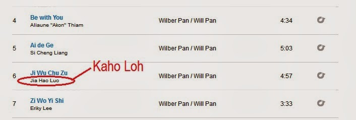 composed song for wilber pan