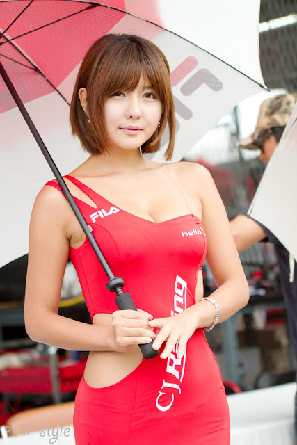 2 Ryu Ji Hye at CJ SuperRace R3 2012-very cute asian girl-girlcute4u.blogspot.com