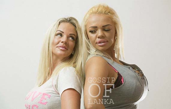 Mother and daughter splash out £56,000 on surgery to look like Katie Price (Watch video & photos)