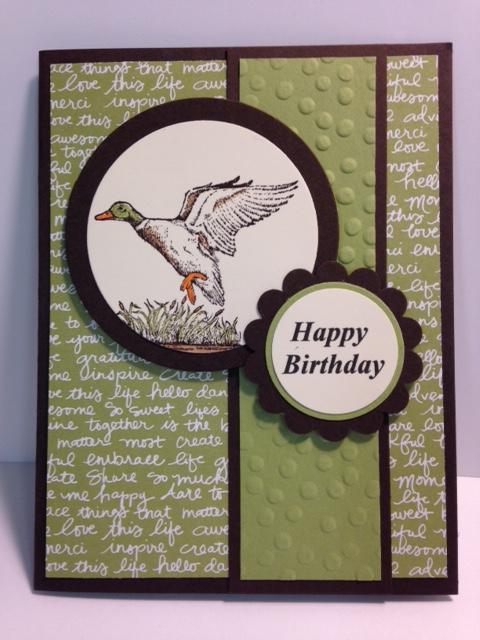 My Creative Corner The Wilderness Awaits Masculine Birthday Card