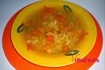 goveja juha, puranja juha, piščančja juha, recept za juho