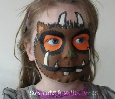 Gruffalo Child Face Paint