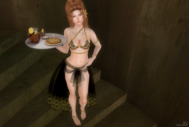 Second Life Virtual Role-Play Fashion Review with Home Decor!