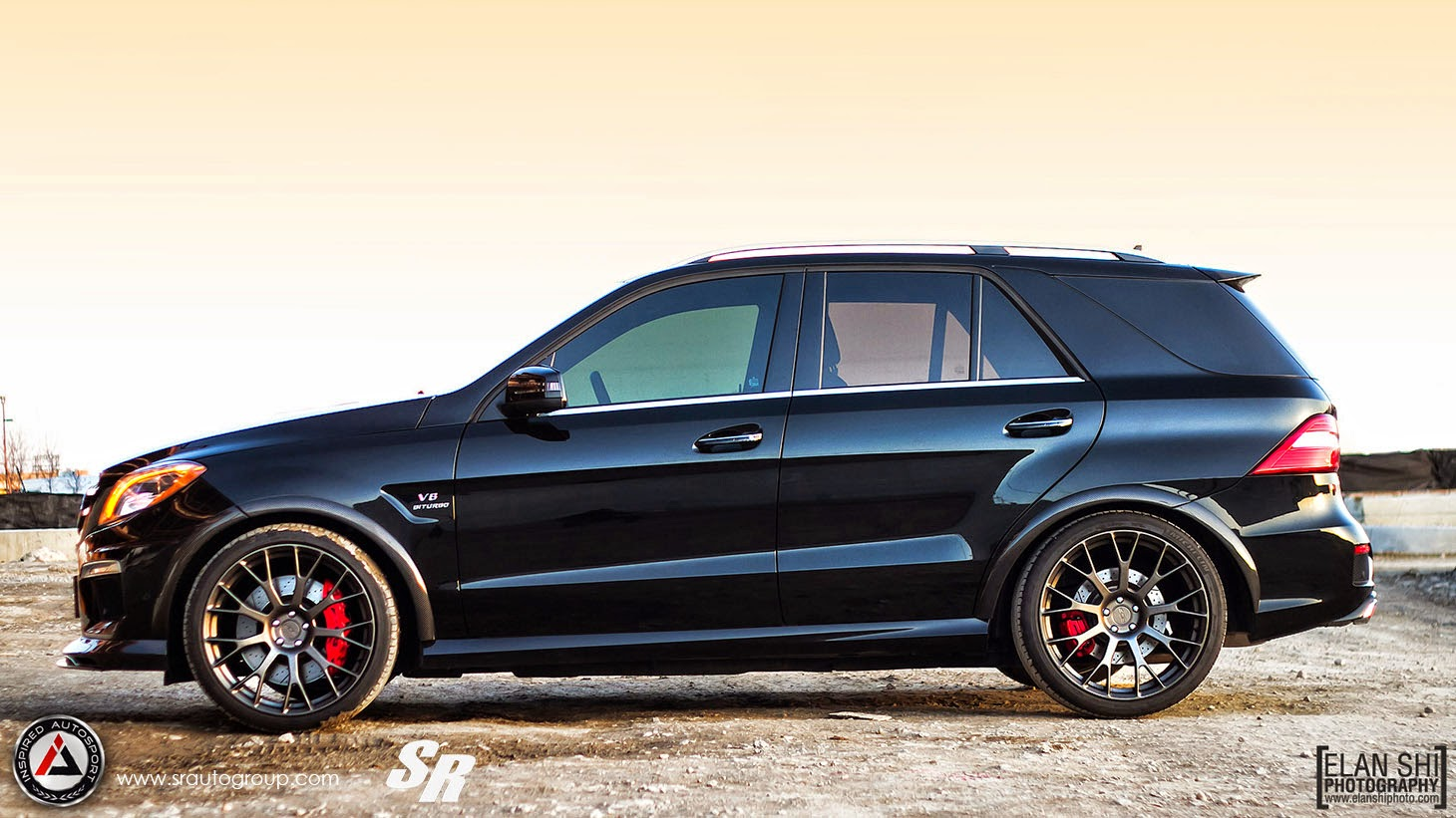 mercedes benz ml63 amg revozport on pur wheels benztuning. Black Bedroom Furniture Sets. Home Design Ideas