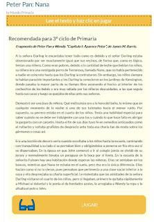 http://www.mundoprimaria.com/lecturas-infantiles/peter-pan-nana.html