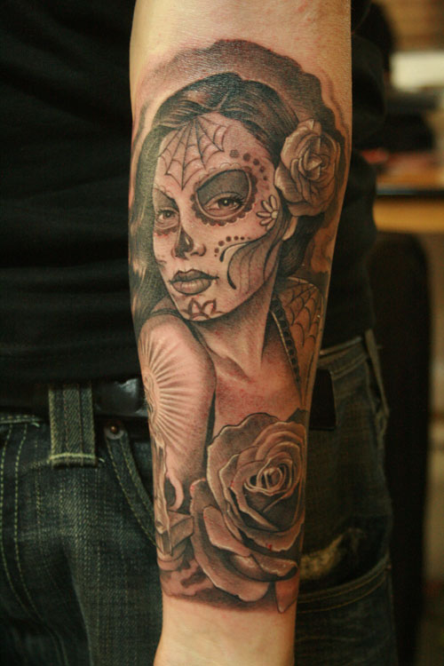Day Of The Dead Lady (Girl)