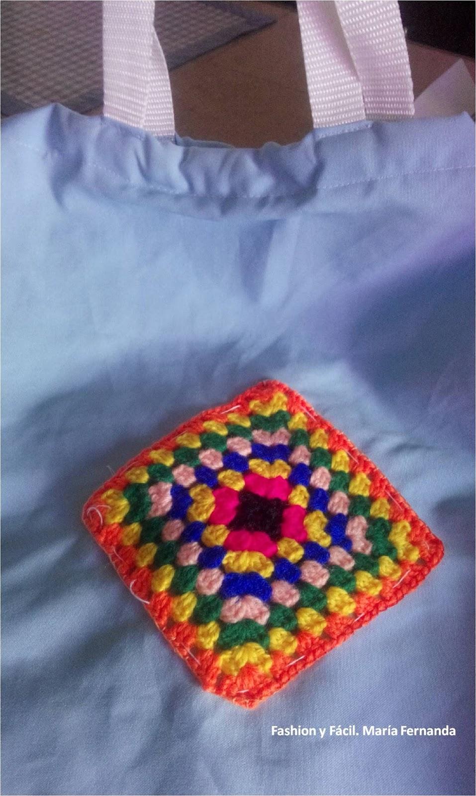 Fashion y Fácil : Punto para coser apliques de crochet. DIY un ...