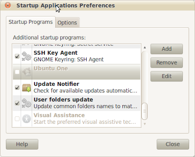 Make Startup Programs in Ubuntu