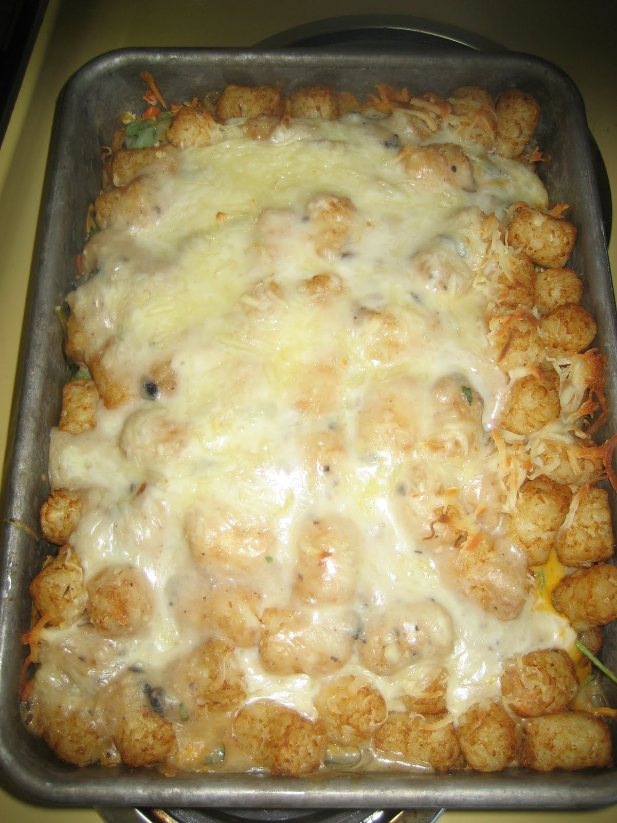 Deaf Dogs And Benevolent Gnomes Tater Tot CasseroleHot Dish