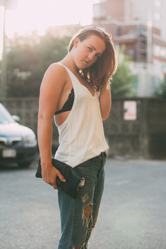 In My Dreams, Canadian personal style and fashion blogger wearing T by Alexander Wang, Noul and Zara.